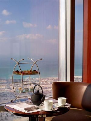 Vista do rest. At.mosphere Burj Khalifa