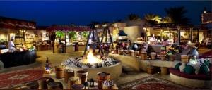 Jantar beduino no deserto