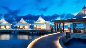 Fim da tarde nas Maldivas